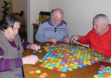 Auch im alter hat man noch Spaß am spielen