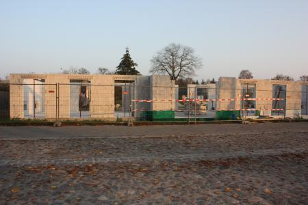 Stand Neubau am 7.November 2011, 1