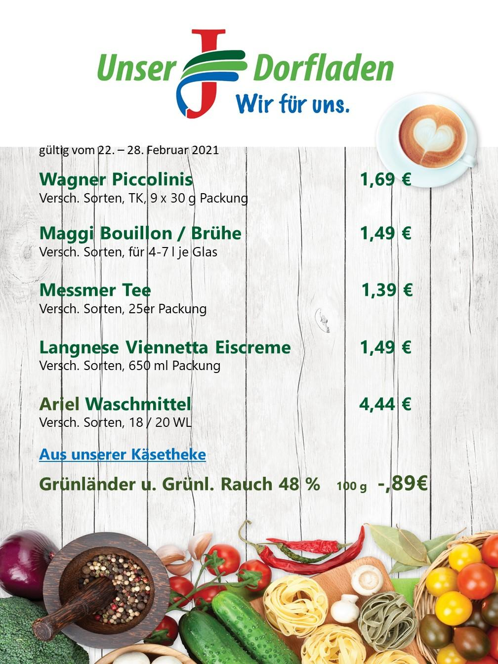 Angebot KW 8