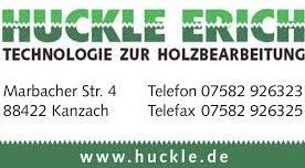 Huckle Holzbearbeitung