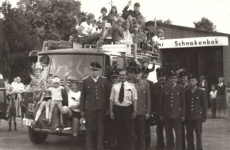 1976 neues Löschfahrzeug