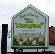 """Gasthaus """"Am Wiesengrund"""" in Unterpörlitz"""