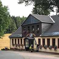 """Waldgasthaus """"Auerhahn"""" in Stützerbach"""
