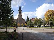 Zinzendorfplatz in Niesky