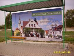 Erneuerung Buswartehallen