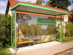 Erneuerung der Buswartehallen in Noes