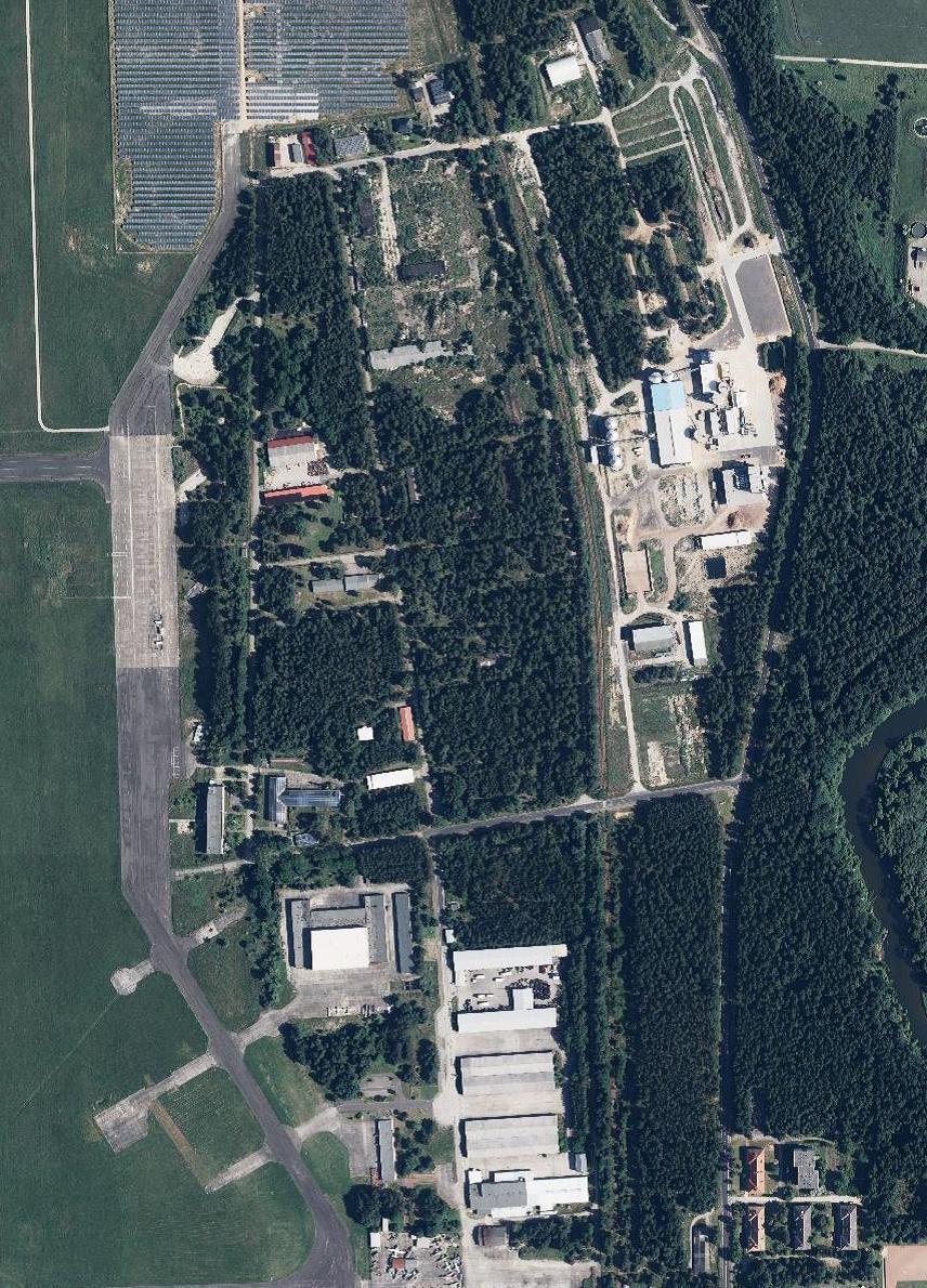 Gewerbegebiet Flugplatz - Ansicht