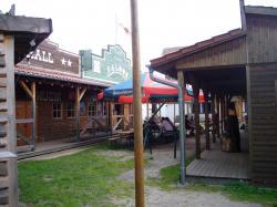 Saloon in der Westernstadt