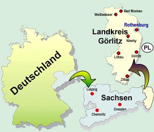 Wo liegt Rothenburg?
