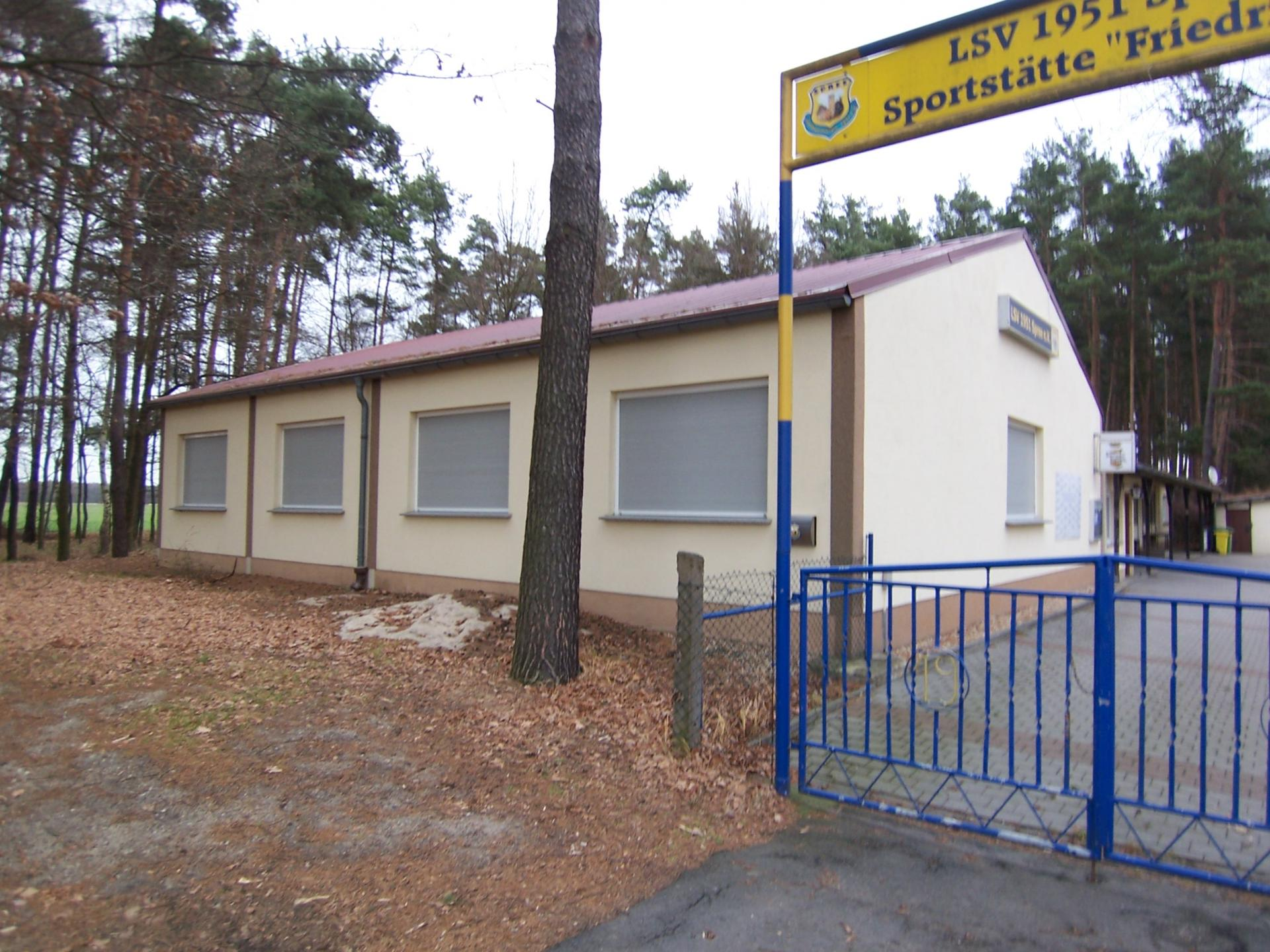 Vereinsgebäude Spree