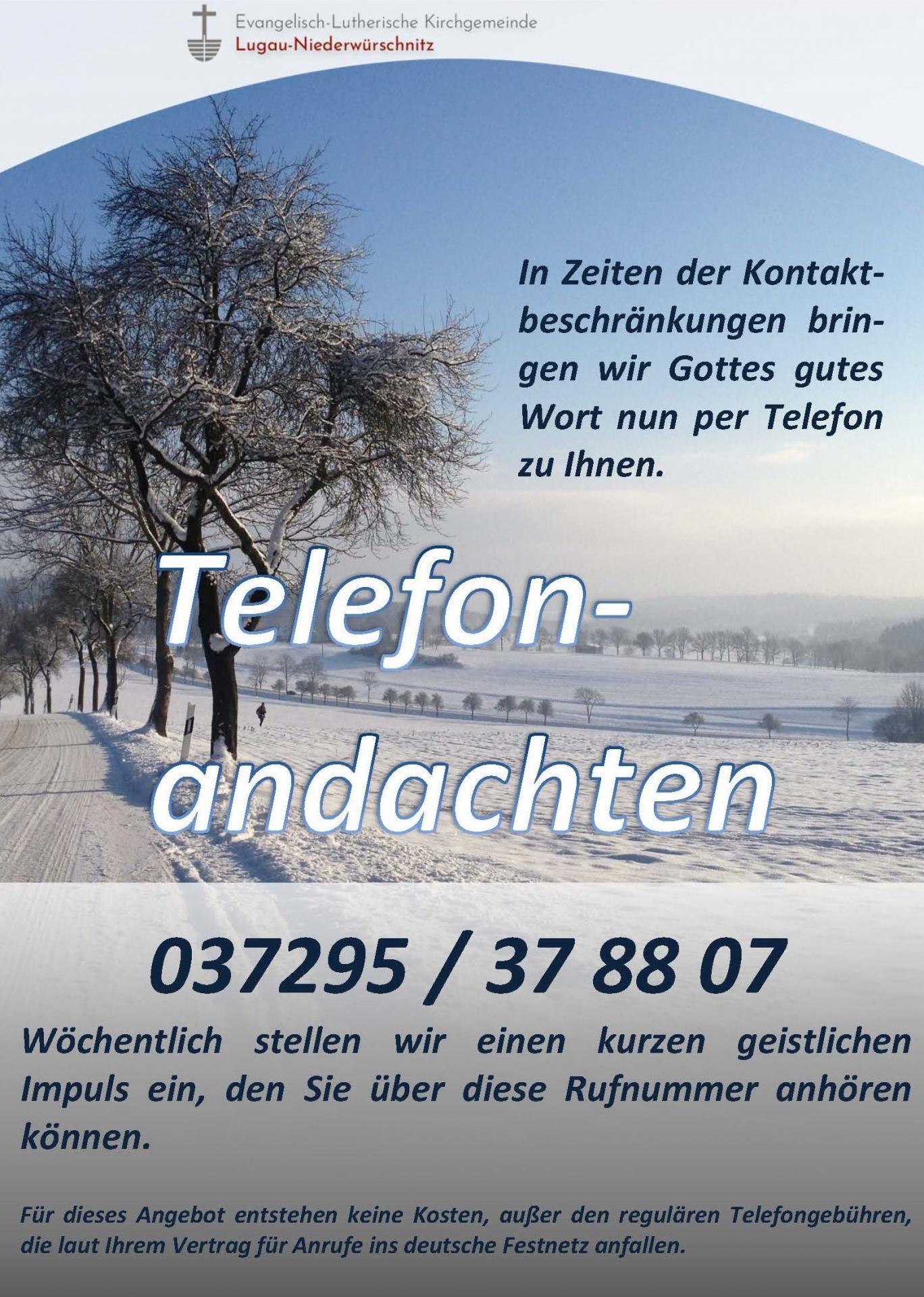 Telefonandachten