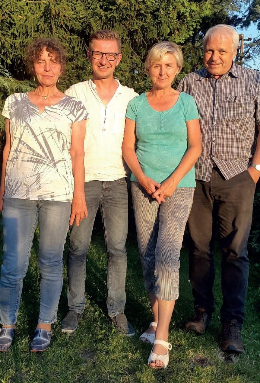 FELS e.V. Vorstand (v.l.): Carmen Vogel, Mike Wetzel, Monika Marx, Roland Eberlein