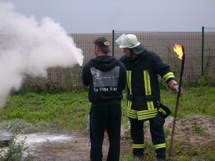 Feuerschutztraining