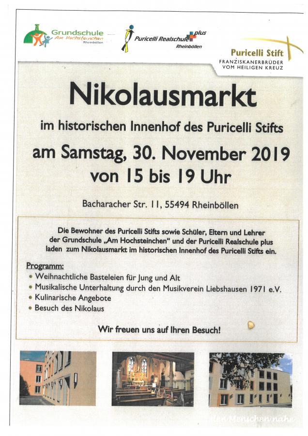 Nikolausmarkt 30.11.2019