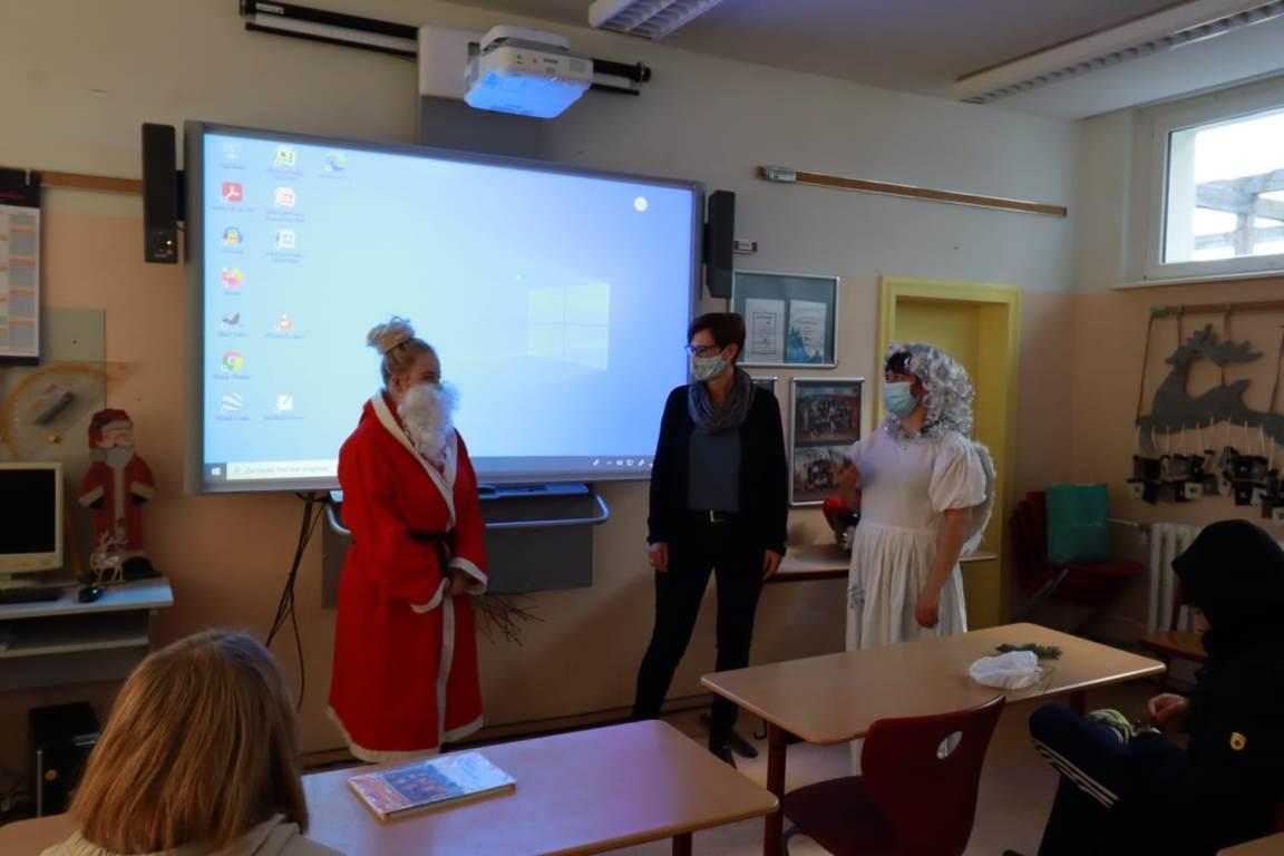Weihnachten an der Goethe-Oberschule Kremmen