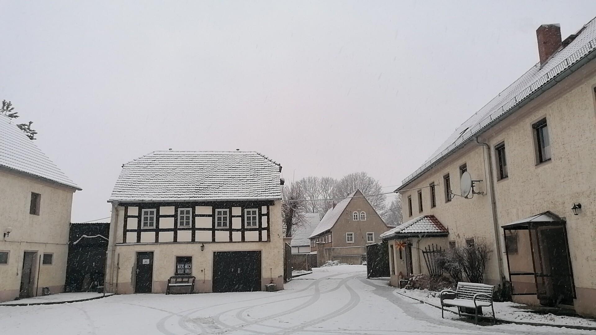 Winter auf dem Hof