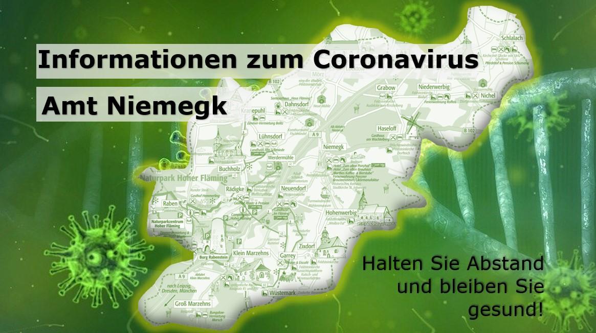 Corona Amt Niemegk Informationen