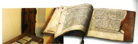 Kastenordnung historische Schrift 448x143