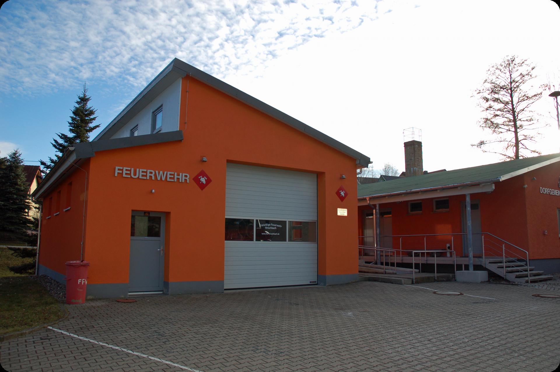 Gerätehaus Hirschbach