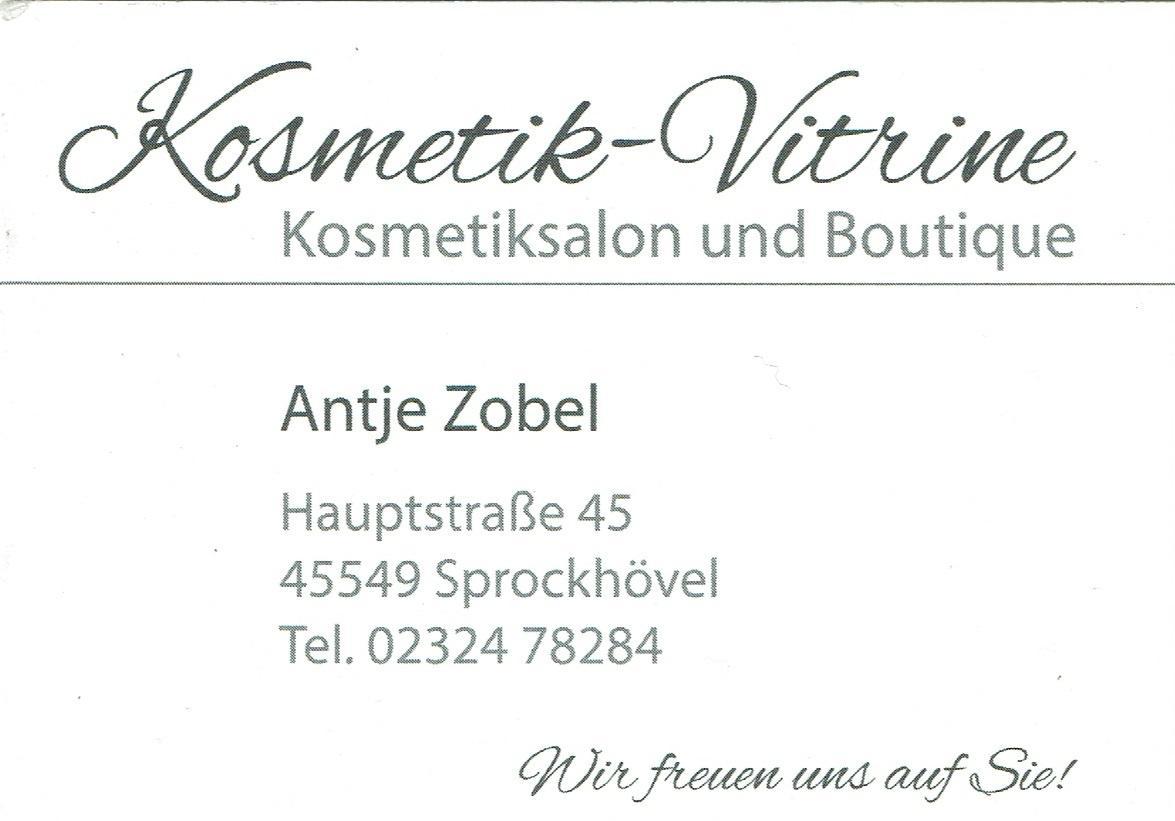 Kosmetik-Vitrine