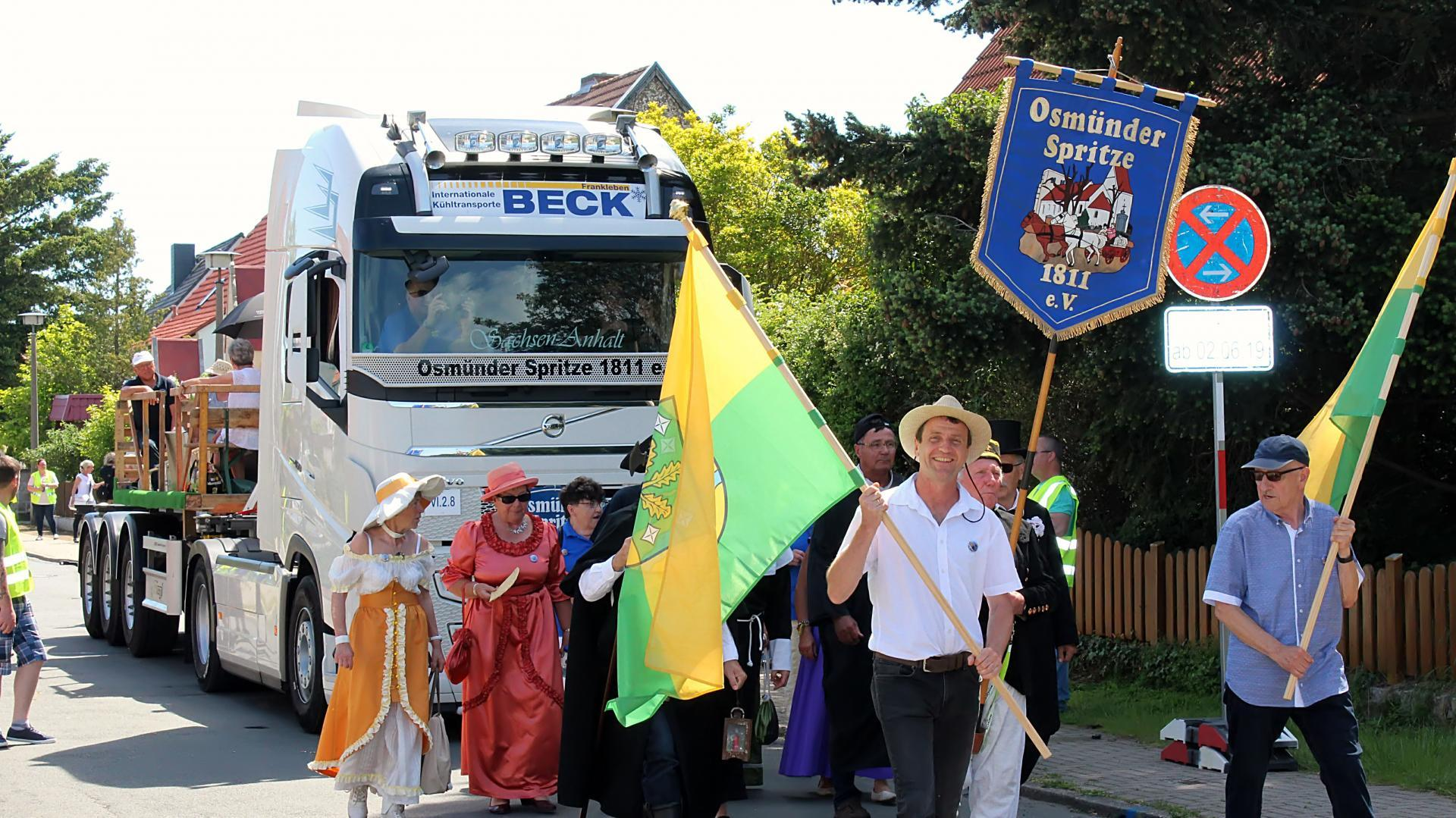 Präsentation des Vereins zum Sachsen-Anhalt-Tag in Quedlinburg
