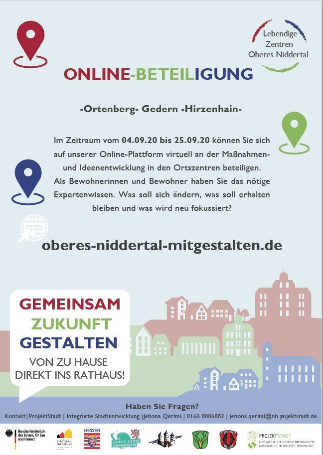 Online Beteiligung Lebendige Zentren