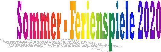 Logo Ferienspiele 2020