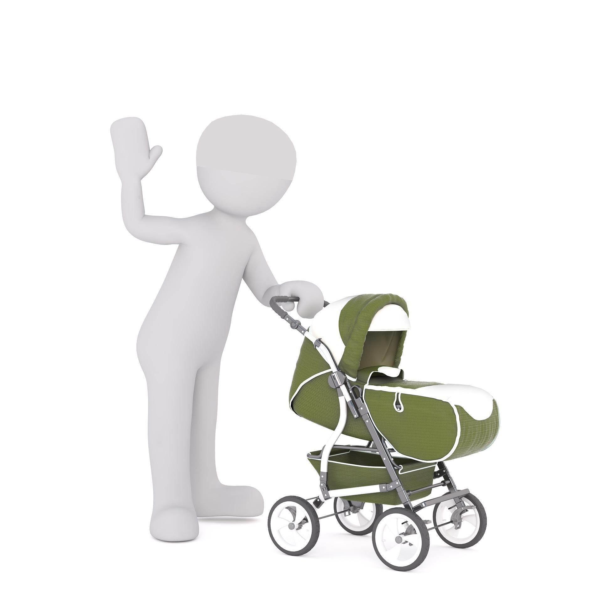 Fit mit Kinderwagen