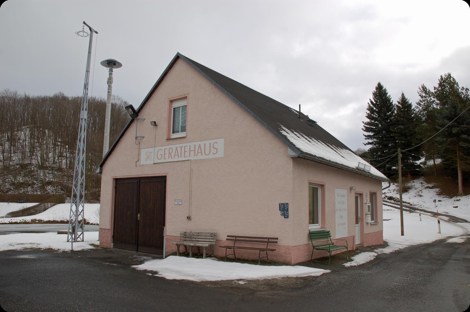 Gerätehaus Niederfrauendorf