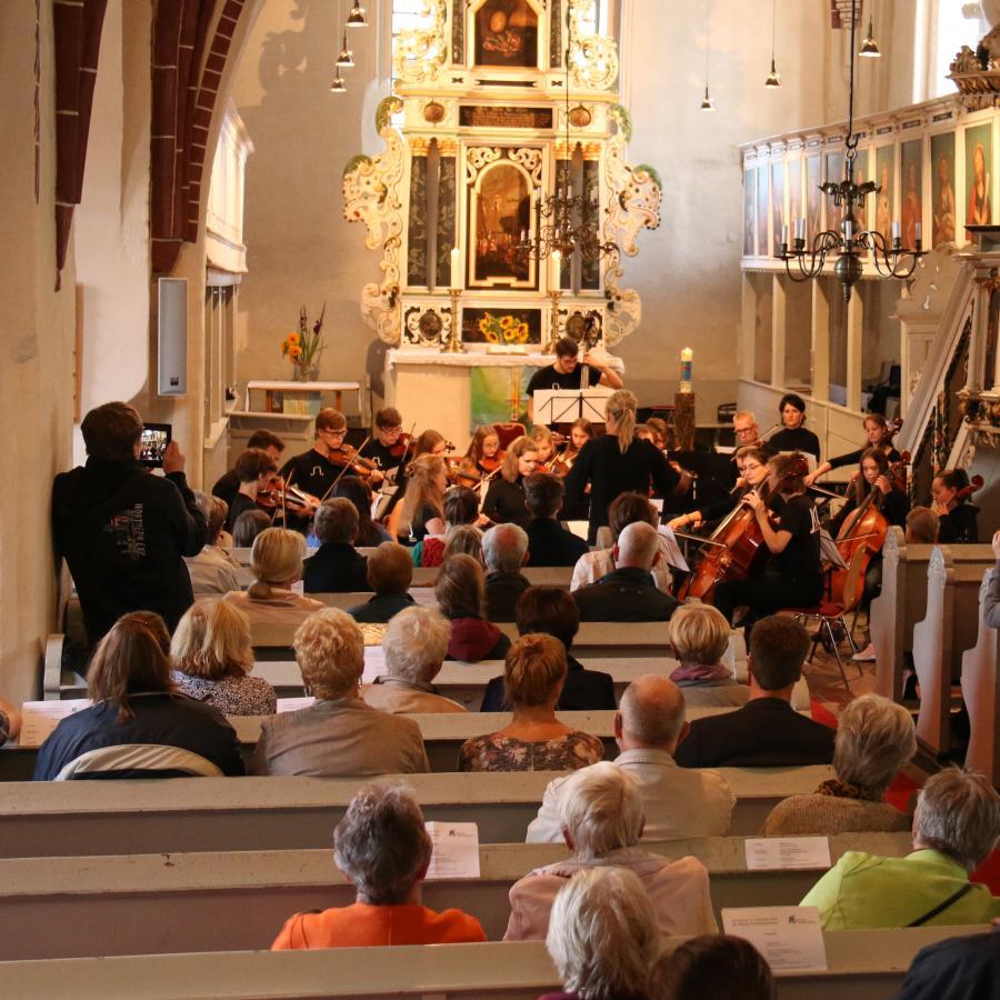 Konzert der Kreismusikschule am 14.09.2019