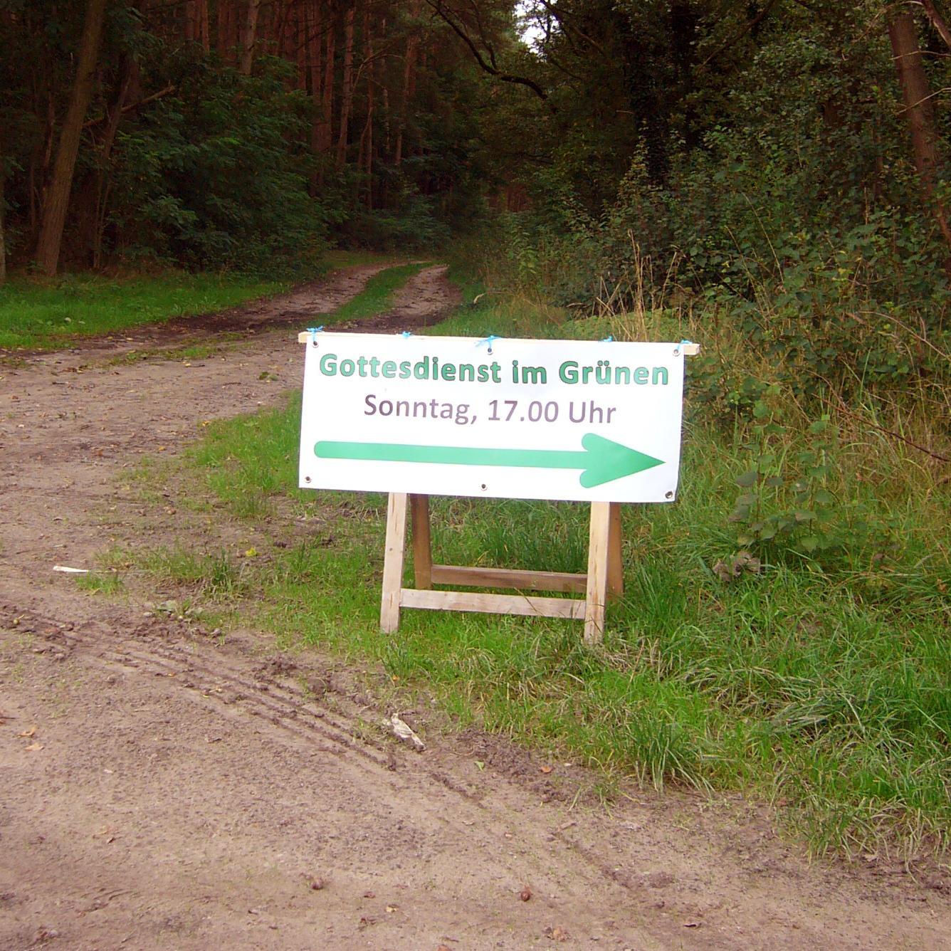 Gottesdienst im Grünen am 12.09.2021
