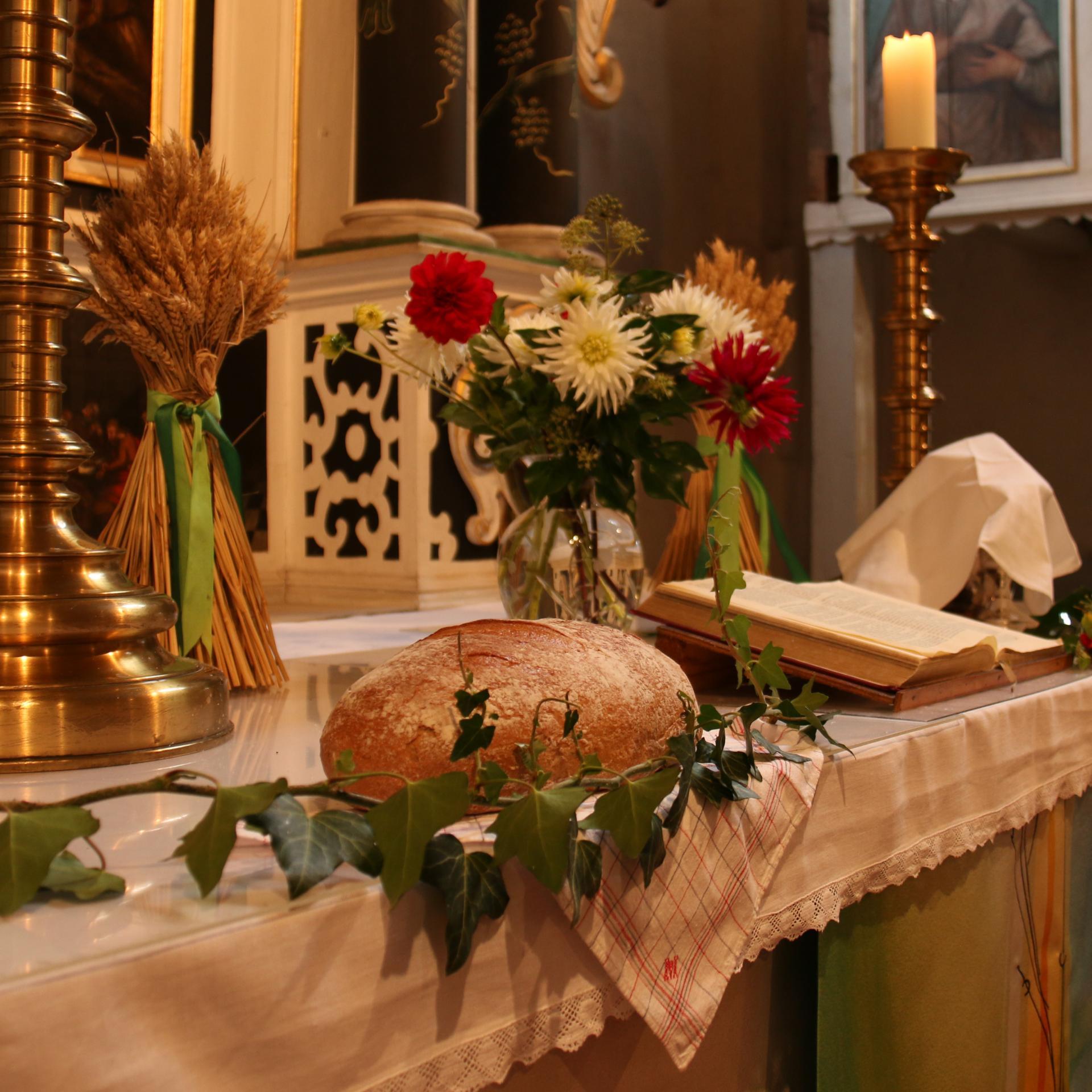 Erntedankfeste am 25.09 und am 03.10.2021