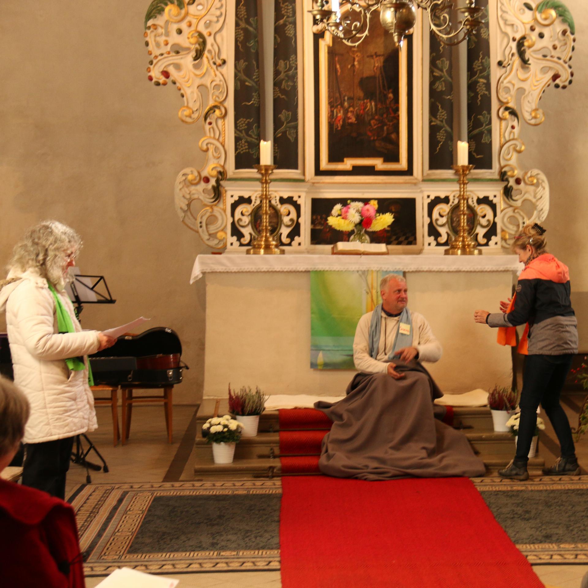 Mirjam-Gottesdienst am 10.10.2021 in Kremmen