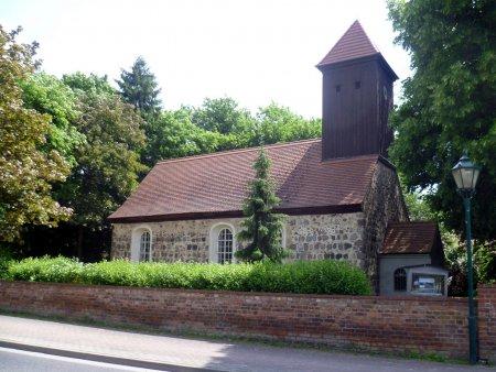 © Foto: N. Lamprecht – Evangelische Kirche im Ortsteil Klein Kienitz