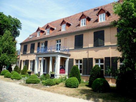 © Foto: N. Lamprecht – ehemaliges Gutshaus im Ortsteil Klein Kienitz