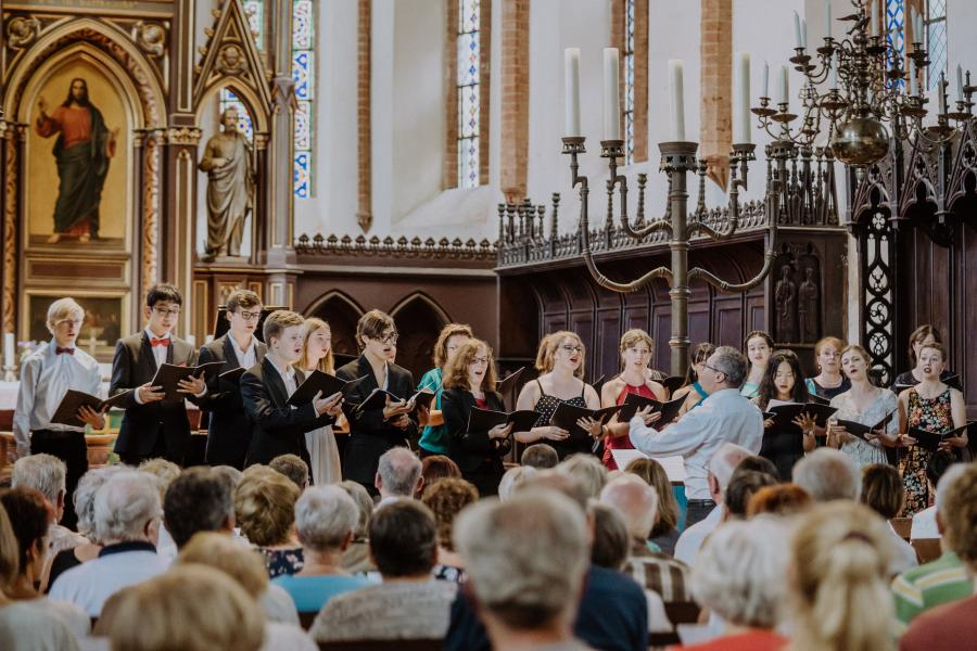 Großes Abschlusskonzert der Lotte Lehmann Woche in der St. Jacobi Kirche Perleberg