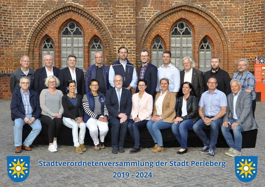 Stadtverordnetenversammluing der Stadt Perleberg 2019 - 2024