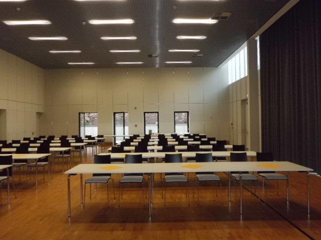 Pinsenberghalle als Tagungsort