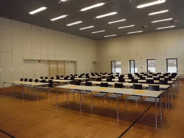 Pinsenberghalle als Tagungsort 2