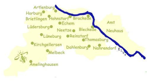 karte Lüneburg
