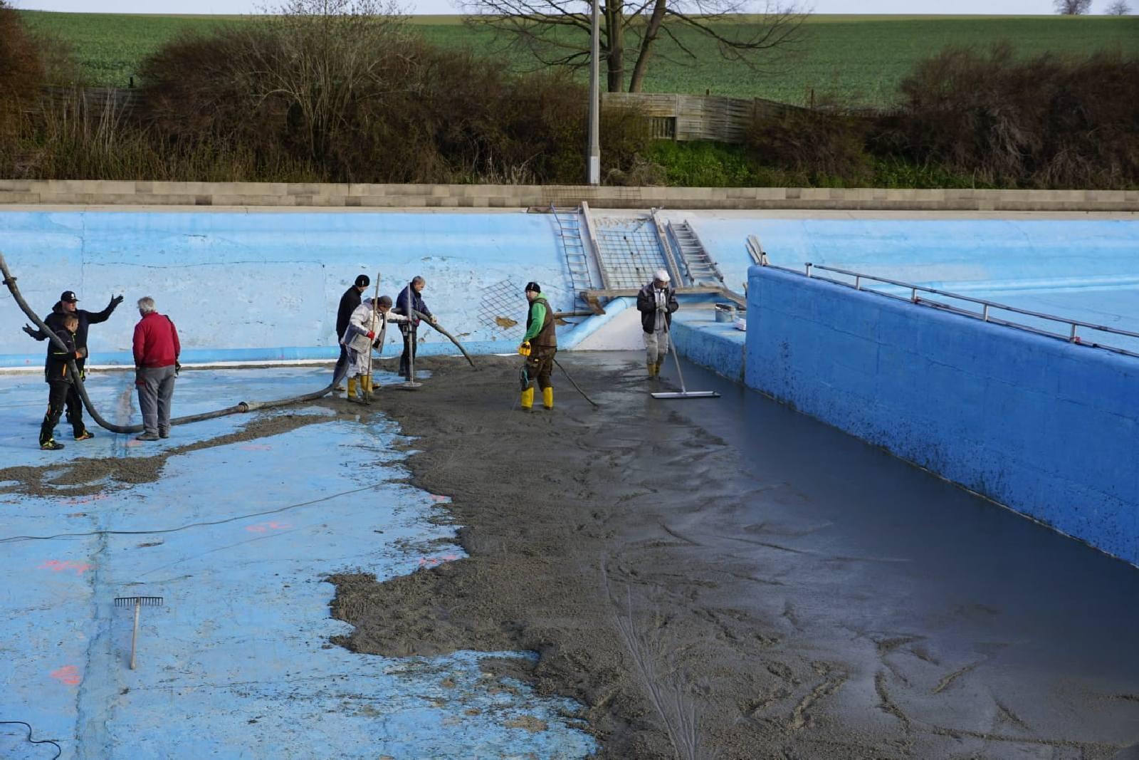 Sanierung Becken