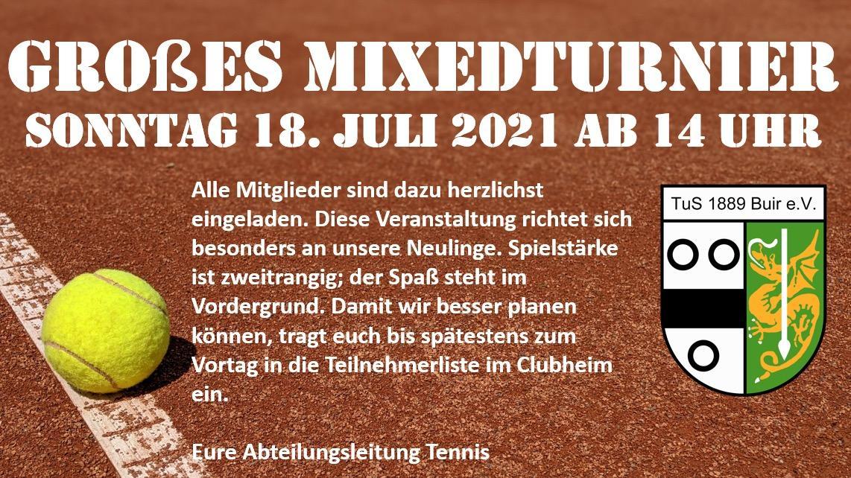 Mixed-Turnier 2021