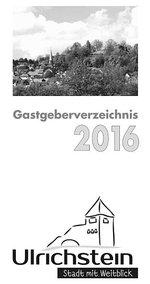 Gastgeberverzeichnis 2016