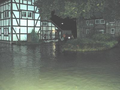 Hochwassereinsatz im Landkreis