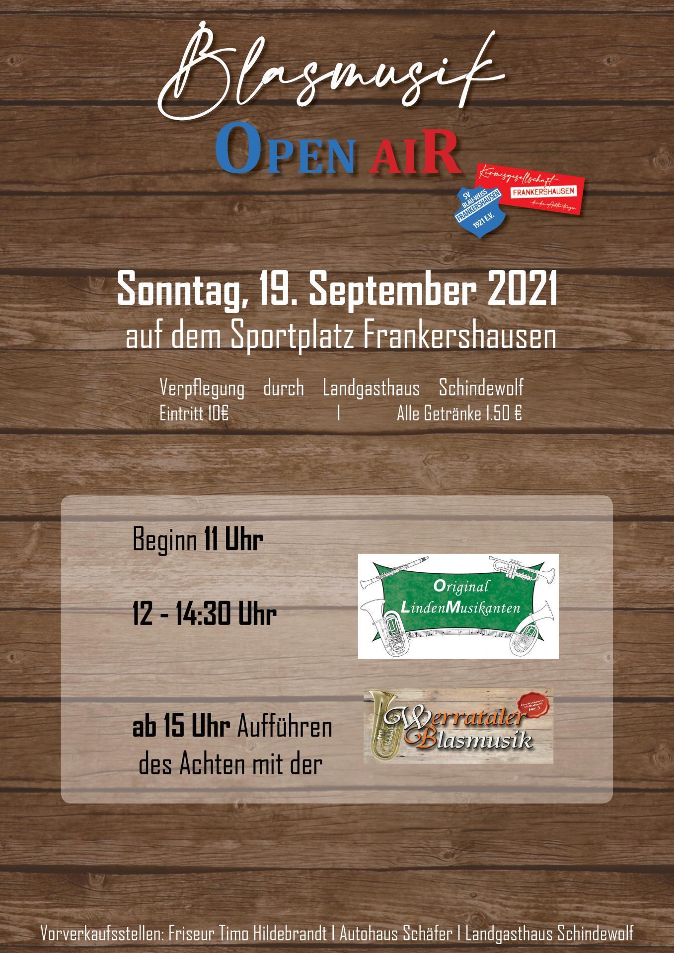 Blasmusik Open Air