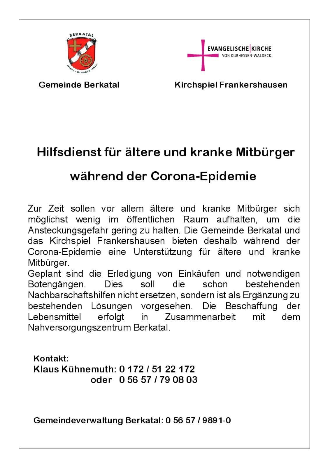 Corona-Hilfe