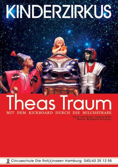 Theas Traum – Mit dem Kickboard durch die Milchstraße