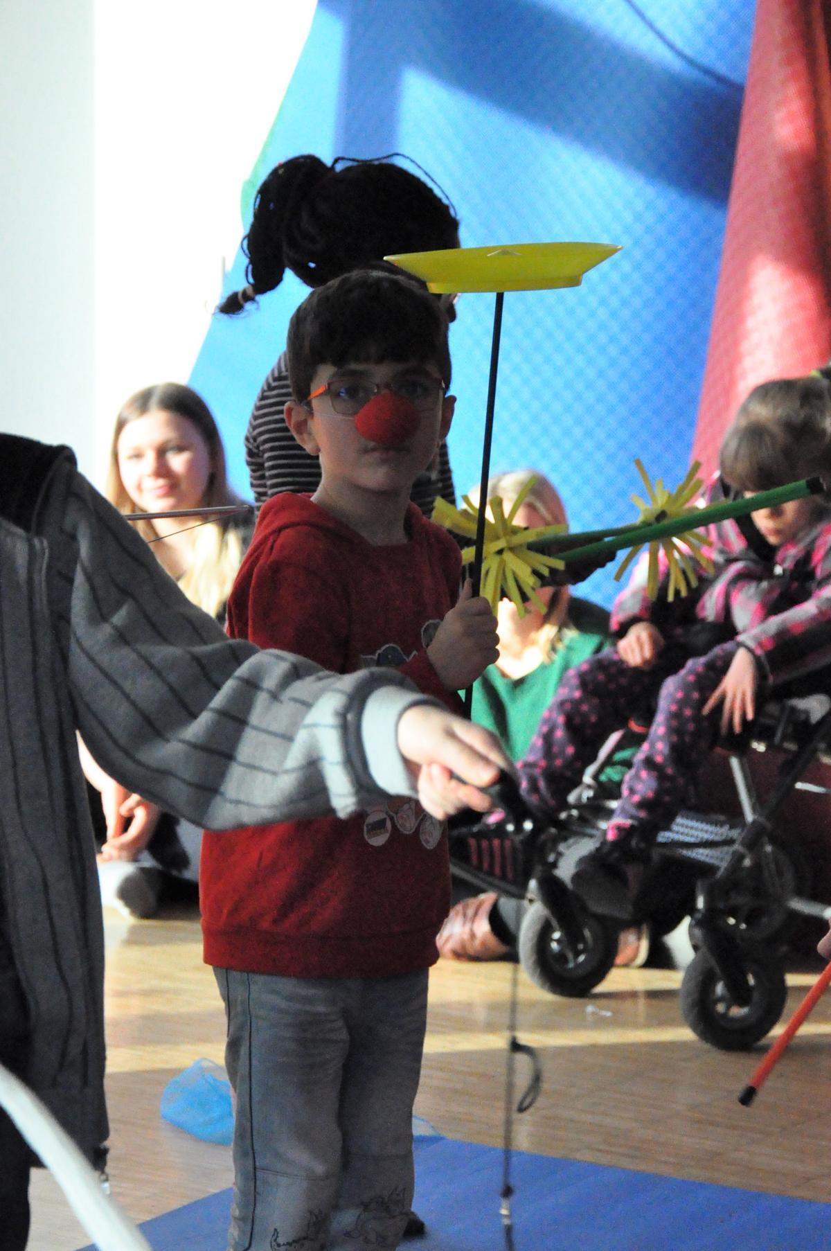 Zirkus mit Sehbehinderten