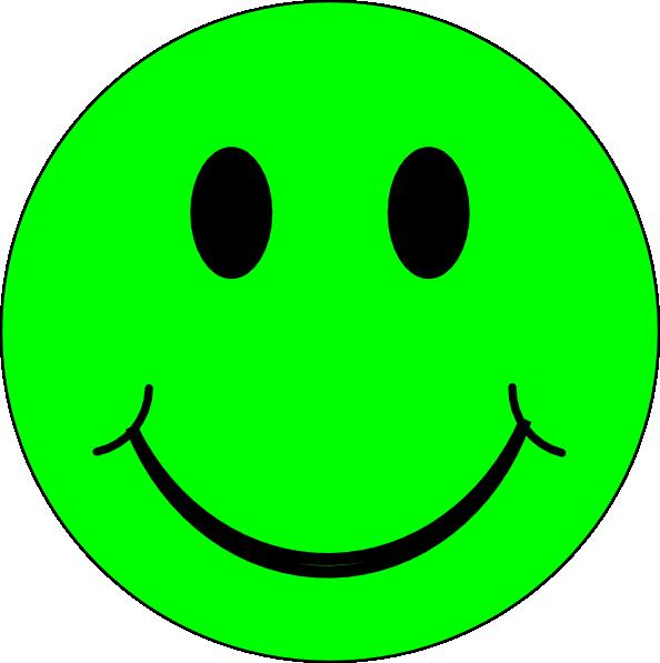 Smiley grün