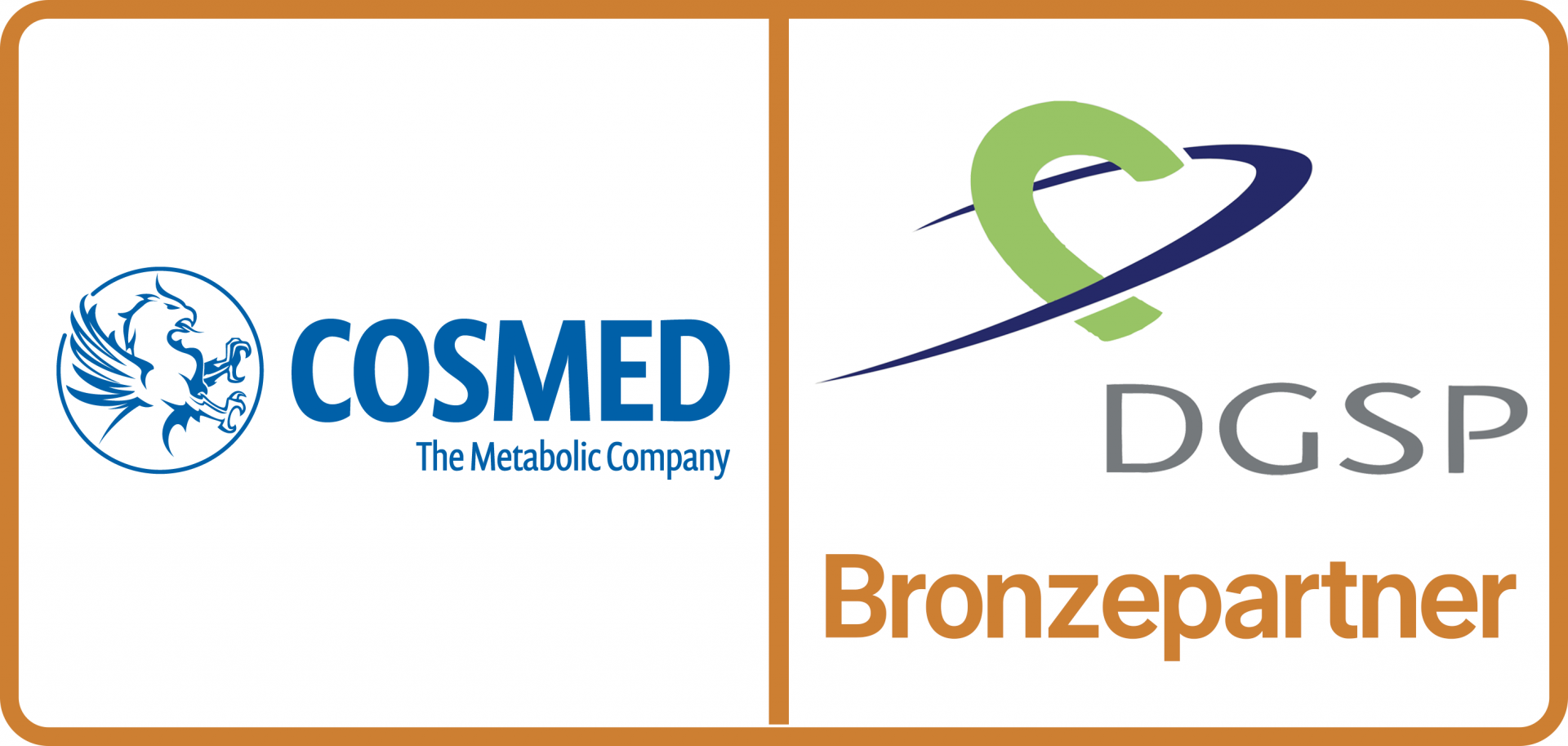 Bronzepartner COSMED — The metabolic company